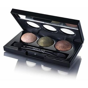 Isadora Eye Shadow Trio. Extra Long Lasting. Fragrance Free. Clinically Tested. (84 Forest)