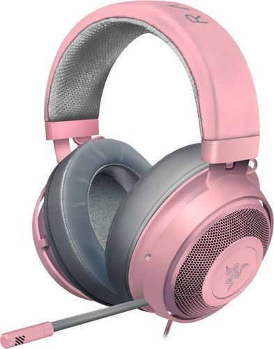 Razer - Kraken Wired Stereo Gaming Headset - Quartz Pink