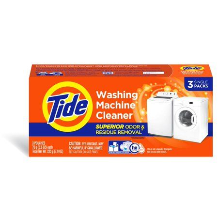 Tide Washing Machine Cleaner Pouches - 3ct