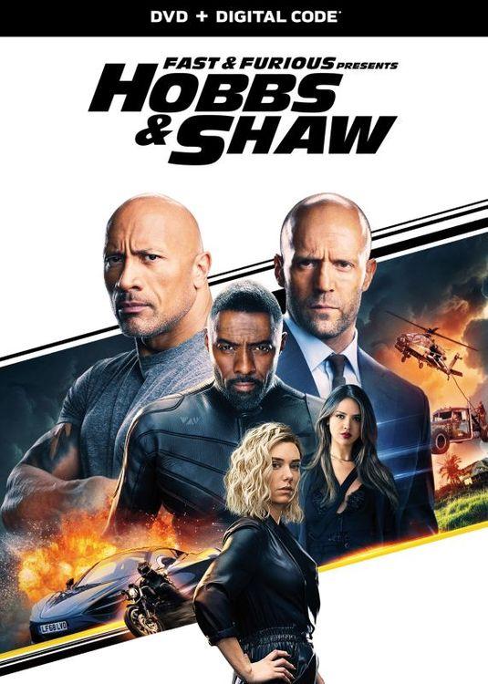 Fast & Furious Presents: Hobbs & Shaw (DVD)
