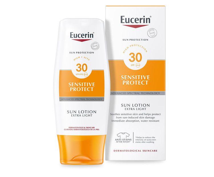 Eucerin Sensitive Protect Sun Lotion Extra Light SPF30 150ml