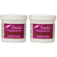 Rep-Cal SRP00200 Phosphorous-Free Calcium Ultrafine Powder Reptile/Amphibian Supplement with Vitamin D3