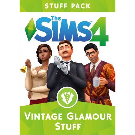 Electronic Arts The Sims 4 Vintage Glamour Stuff Pack - PC Game - Email Delivery