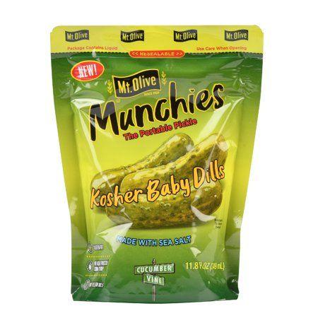 Mt. Olive Munchies, Kosher Baby Dills, 11.8 fl oz