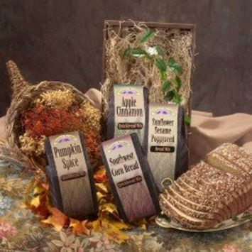 Autumn Harvest Gourmet Bread Mixes Gift Set