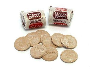 Necco Chocolate Jr. Wafer Rolls, 1LB