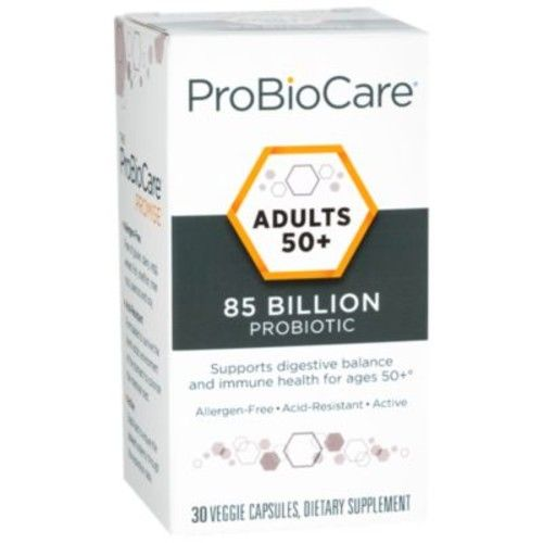Adults 50+ Probiotic 85 BILLION (30 Veggie Capsules) by ProBioCare at the Vitamin Shoppe