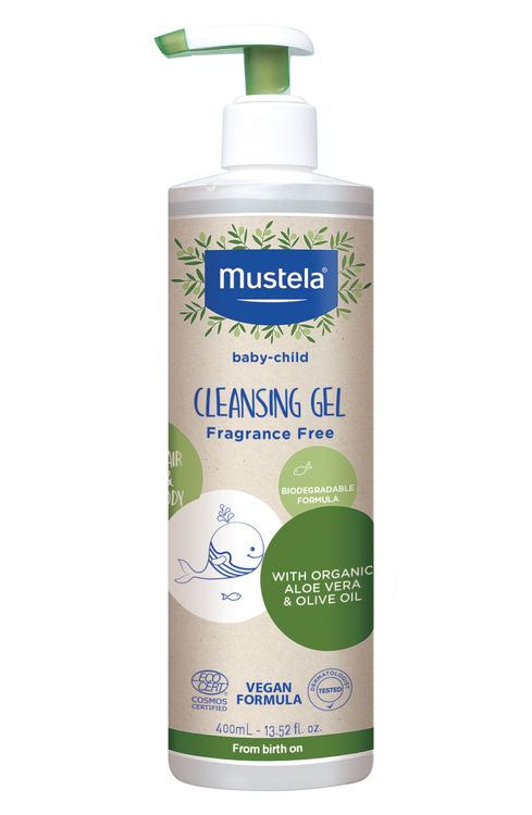 Mustela Organic Cleansing Gel With Olive Oil & Aloe