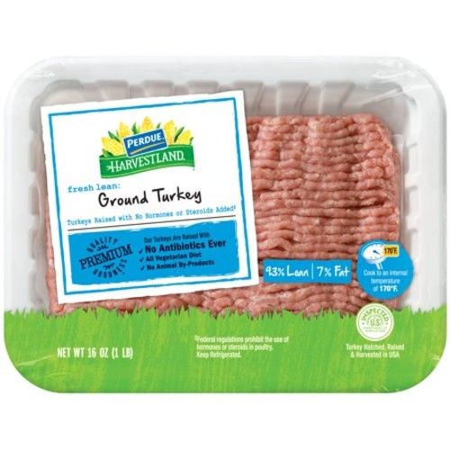 Perdue Harvestland Fresh 93% Lean Ground Turkey (1 lb.)
