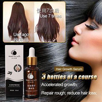 Fheaven 30ml Fast Hair Growth Shampoo Serum Hair Loss Treatment Building Growing-faster Fibers
