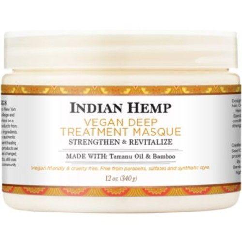 Nubian Heritage  Indian Hemp Vegan Deep Treatment Masque