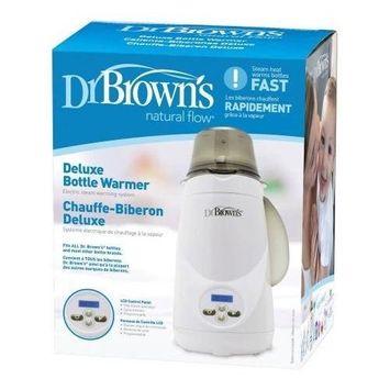Dr. Brown's Deluxe Bottle Warmer   1-Button Start   LCD Control Panel (Bottle Warmer)