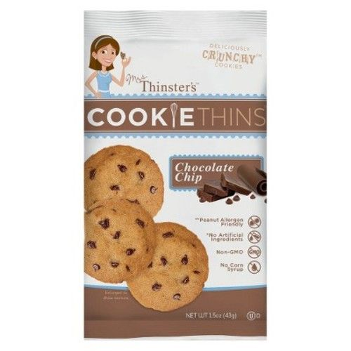 That's How We Roll Mrs. Thinsters™ Chocolate Chip - Cookie - Single Serve