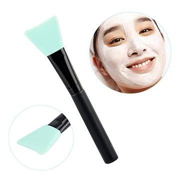 RNTOP Wooden Handle Facial Face Mud Mask Mixing Brush Cosmetic Makeup Kit