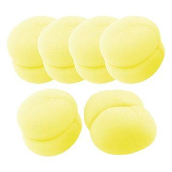 18Pcs Sponge Strawberry Ball Hair Styler Curler Roller Tool Soft Sponge Curlers for Lady