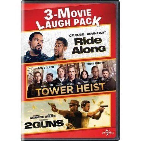 Mca Ride Along/Tower Heist/2 Guns 3-Movie Laugh Pack DVD