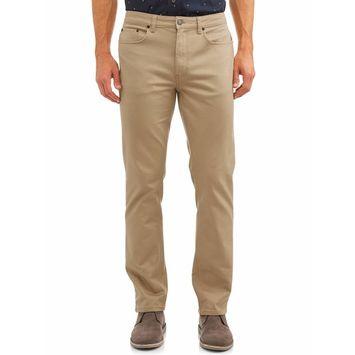 George - George Men's Premium 5 Pocket Twill Pants [name: actual_color value: actual_color-sandkhaki]