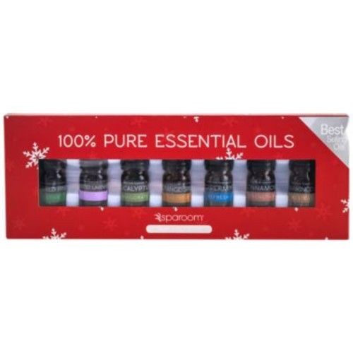 Essential Oil 7 Pack Holiday Kit - VARIETY (1 Kit) by SpaRoom at the Vitamin Shoppe
