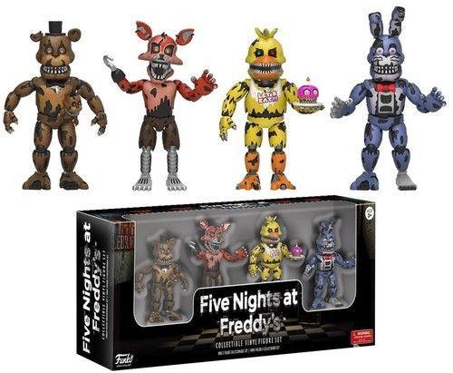Five Nights at Freddy's Nightmare 2-Inch Vinyl Figure Set