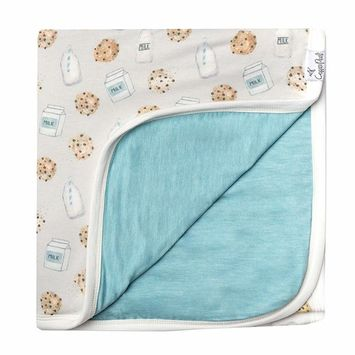 Large Premium Knit Baby 3 Layer Stretchy Quilt Blanket
