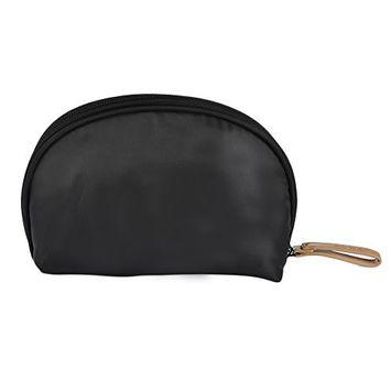 Oshide Women Girls Canvas Makeup Case zipper Bags Travel Cosmetic Makeup Bags Pouch Box - 6 Colors For Choose