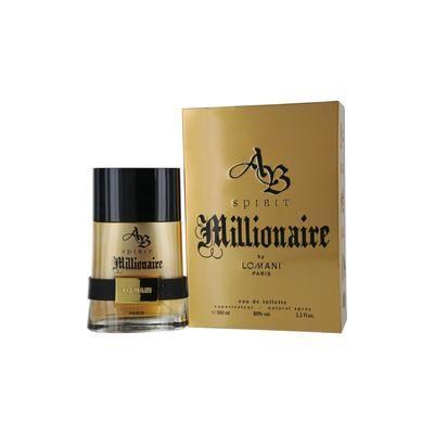 AB Spirit Millionaire Cologne by Lomani, 3.3 oz Eau de Toilette Spray for Men
