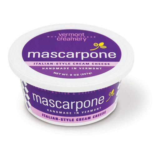 Vermont Creamery, Mascarpone Italian Style Cream Cheese, 8 oz