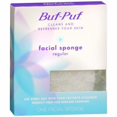 Buf-Puf Facial Sponge, Regular 1 ea(pack of 3)