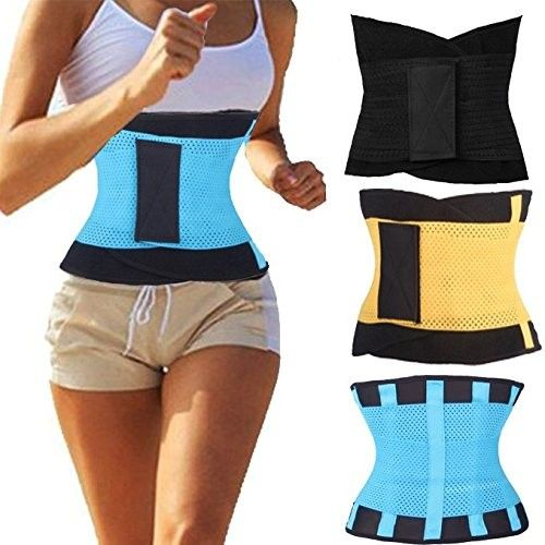 Unisex Workout Thermo Faja Sport Body Shaper Waist Trainer Corset Fitness Girdle Belt