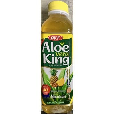 Aloe Vera King Pineapple 10/16.9 Oz. Case