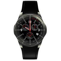 Montre Bracelet Intelligente Gps 3G Wifi Caméra Ecran Tactile Sf-dm368 Argent