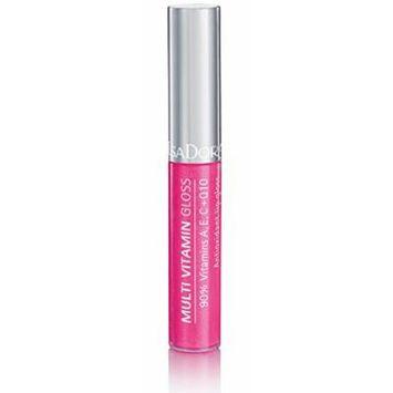 Isadora Multi Vitamin Antioxidant Lip Gloss made by 90% of vitamins A, C, E + Q10 - 7 ml/.24 Fl.oz. (32 Raspberry)