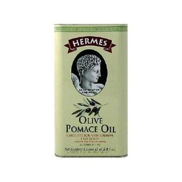 Hermes Pomace Olive Oil, 3 liter Container