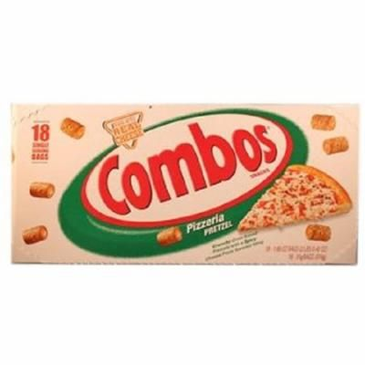 Combos Pizzeria Pretzel Baked Snacks 1.80 Ounce ( 18 Pack )