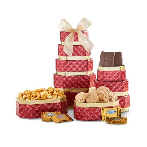 1-800-BASKETS.COM Ghiradelli Golden Gift Tower