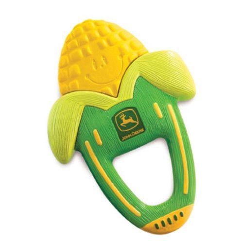 John Deere Massaging Corn Teether Toy - TBEKY5208