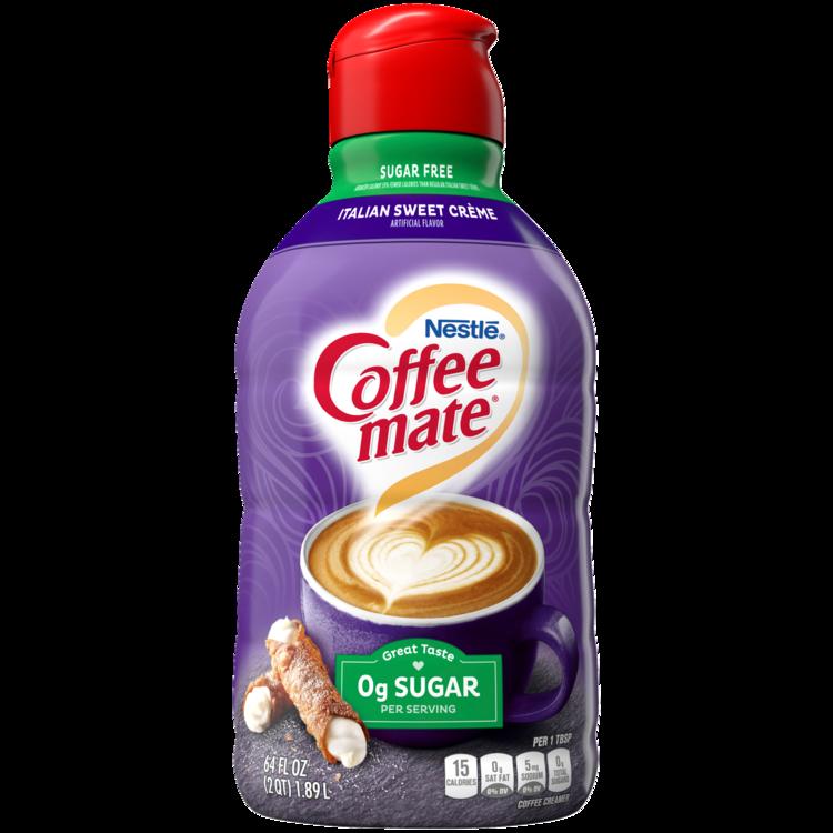 Coffee-mate Sugar Free Italian Sweet Crème Liquid Coffee Creamer