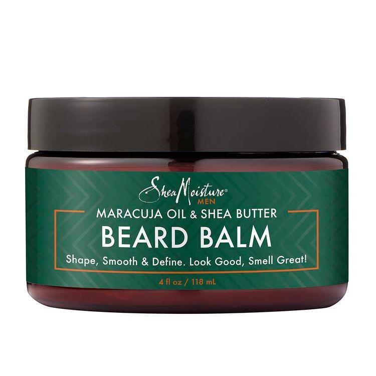 SheaMoisture Maracuja Oil & Shea Butter Beard Balm Shape, Smooth & Define
