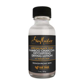 SheaMoisture African Black Soap Bamboo Charcoal Detoxifying Drying Lotion