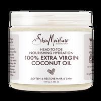 SheaMoisture 100% Extra Virgin Coconut Oil (15 oz) Head to Toe Nourishing Hydration