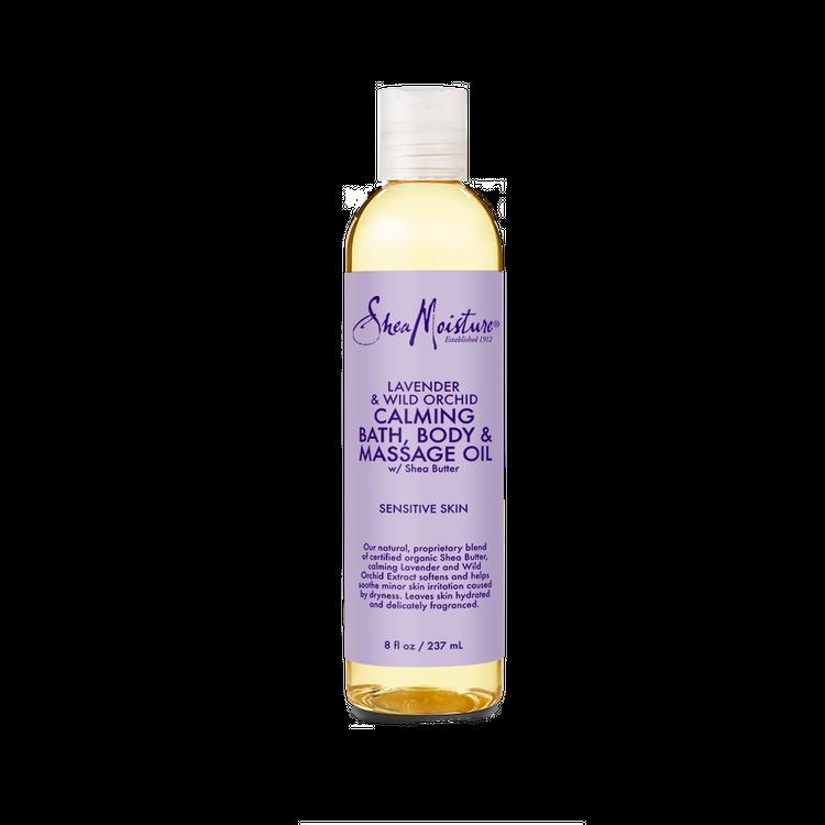 SheaMoisture Lavender & Wild Orchid Bath, Body & Massage Oil