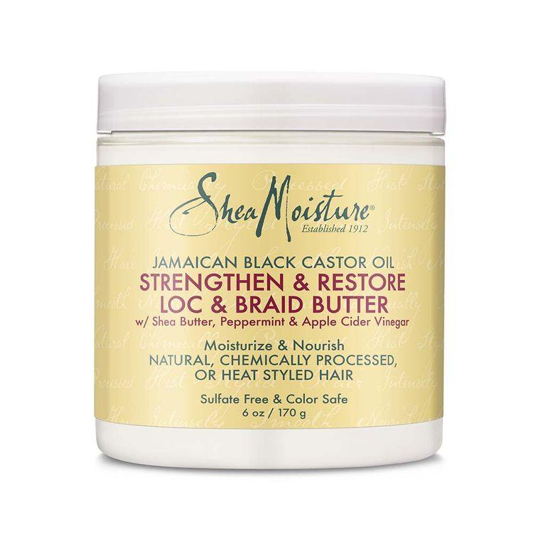 SheaMoisture Jamaican Black Castor Oil Strengthen & Restore Moisture Twist and Loc Butter 6oz