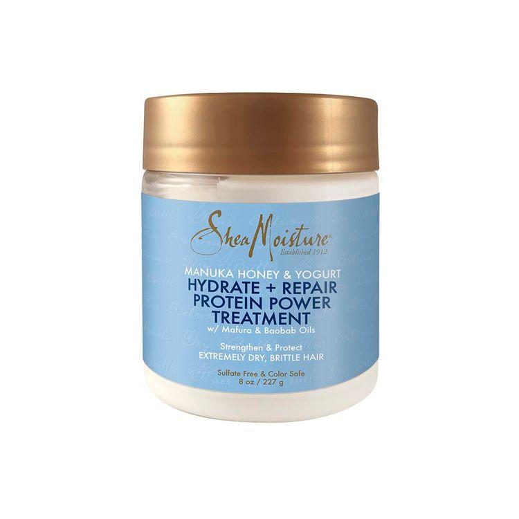 SheaMoisture Manuka Honey & Yogurt Hydrate + Repair Protein-Strong Treatment 8 oz