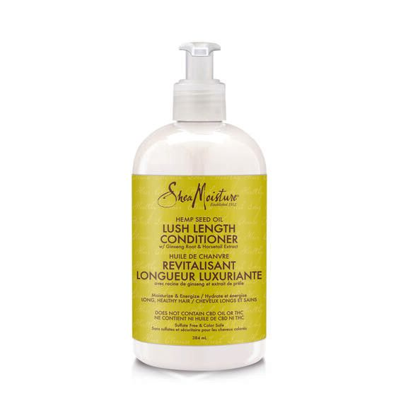 SheaMoisture - Cannabis Sativa (Hemp) Seed Oil - Lush Length Conditioner - w/ Ginseing Root & Horsetail