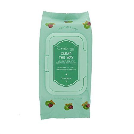 The Crme Shop - Clear the way Vitamin C 60 Pre-Wet Towelettes