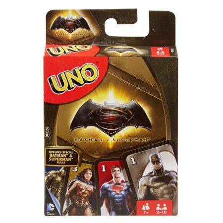 UNO Batman vs Superman Edition Card Game