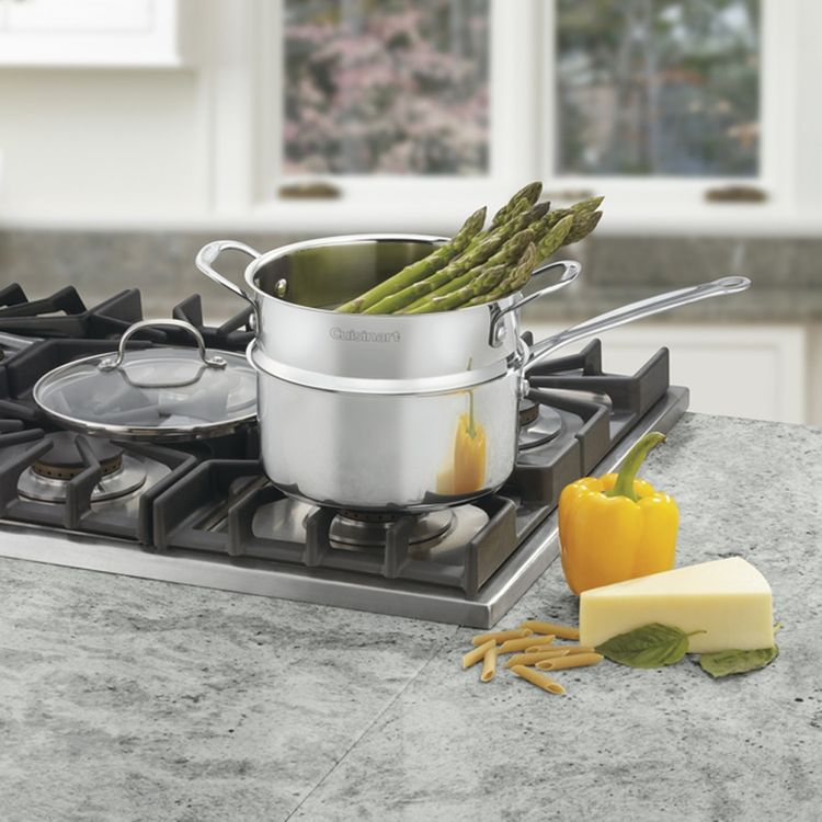 Cuisinart Chef's Classic™ Stainless 3 Quart 3 Piece Steamer Set