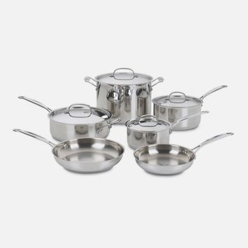 Cuisinart Chef's Classic™ Stainless 10 Piece Set