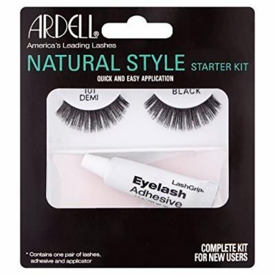 Ardell Natural Style Lashes Starter Kit 101 Demi Black by Ardell