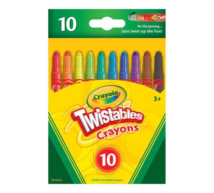 Crayola Mini Twistable Crayons